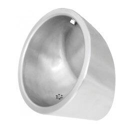 Urinal aus Edelstahl
