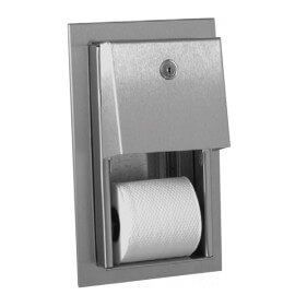 Double toilet tissue dispenser