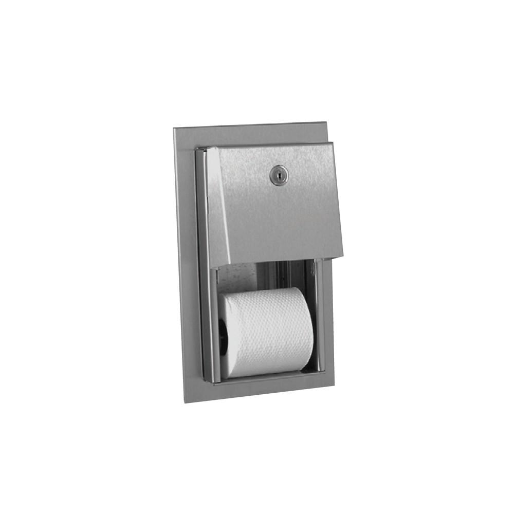 wirtschaftlich wc papierrollenhalter f r zwei rollen. Black Bedroom Furniture Sets. Home Design Ideas