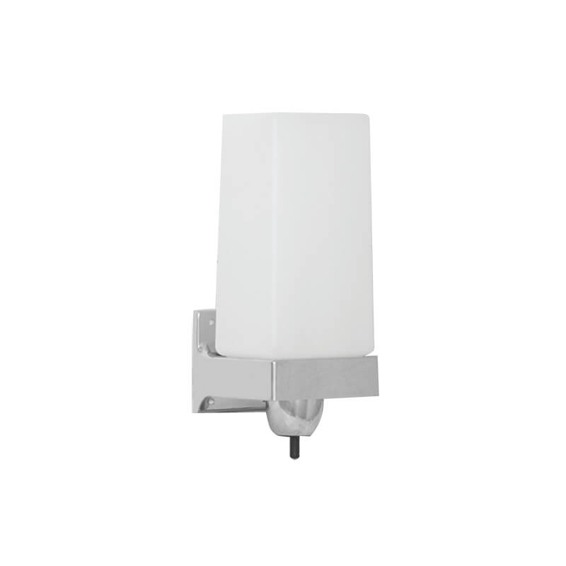 Soap dispenser - ABS bright chrome-plated finish