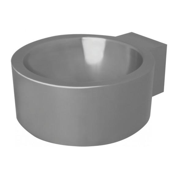 Single floor-mounted wash basin