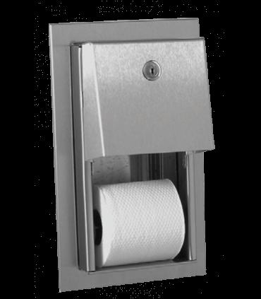 Double toilet tissue dispenser