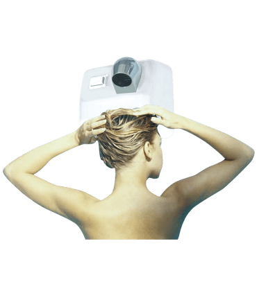 Secador de pelo de uso colectivo