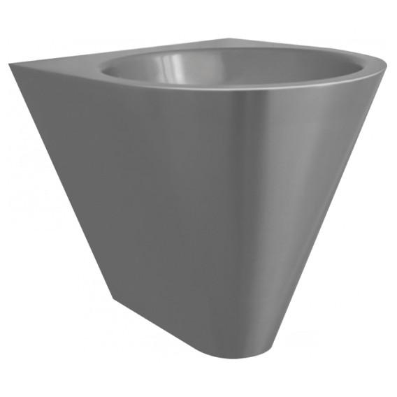 Vasque conique en applique