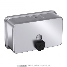 Soap dispenser - horizontal - rounded edges