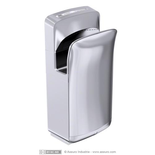 Sèche-mains à commande électronique sans contact (automatique) très silencieux