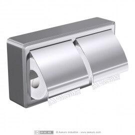 Doble dispensador de papel higiénico