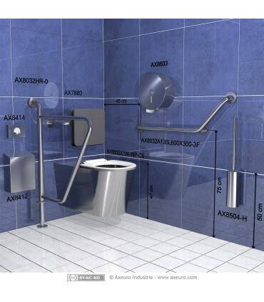 Pot et balai WC