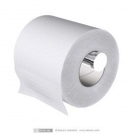 Spare toilet tissue holder