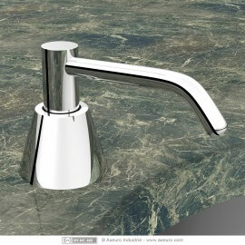 Distributeur de savon encastré sur plan