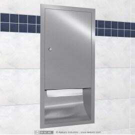 Distributeur d'essuie-mains à encastrer