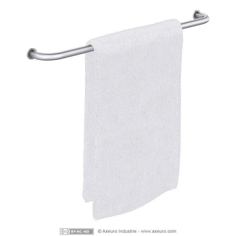 Single towel bar
