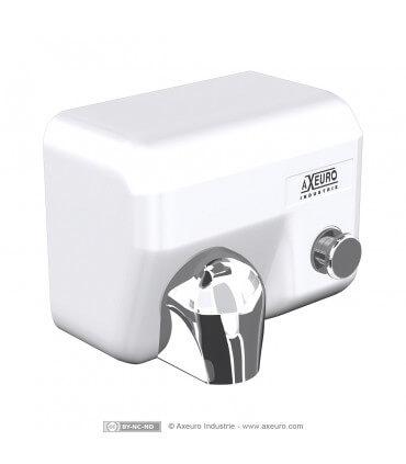 Sèche-mains à bouton poussoir