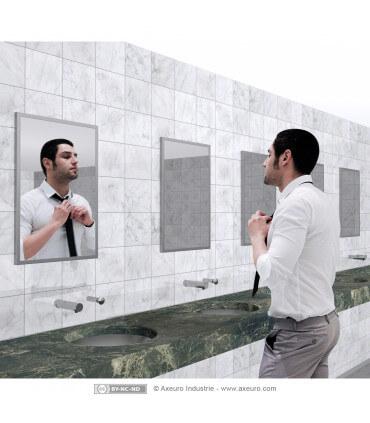 Miroir plat en verre