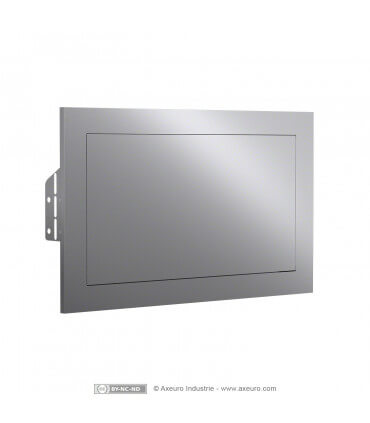 Self closing waste receptacle cover