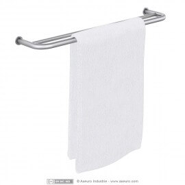 Porte-serviettes deux barres