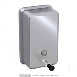 Soap dispenser - rounded edges and front