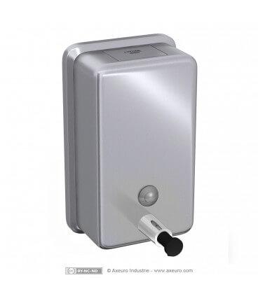 Distributeur de savon façade arrondie