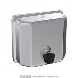 Distributeur de savon carré et arêtes arrondies