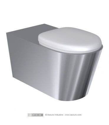 Cuvette et abattant pour WC