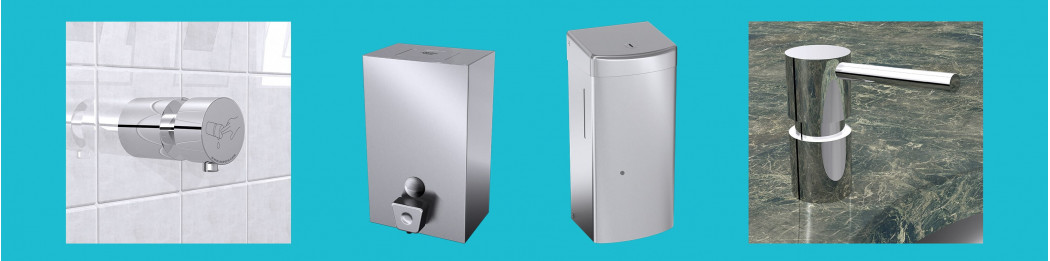 Hydroalcoholic soap / gel dispensers