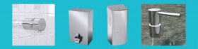 Dispensadores de gel / jabón hidroalcohólico