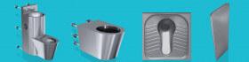 Combiné WC, Cuvettes WC,, WC à la Turque, urinoirs, Séparateurs d'urinoirs…