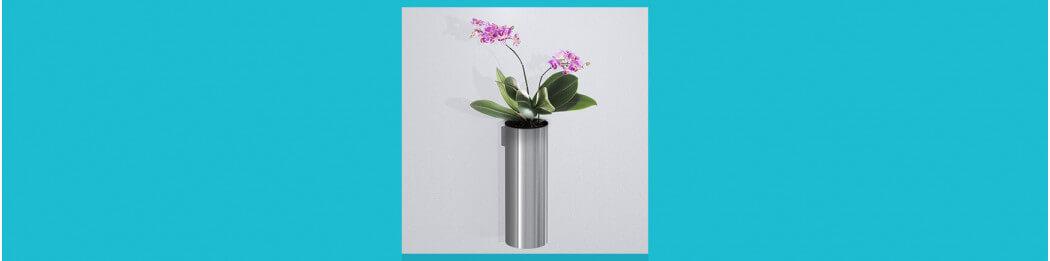 Vases à fixer au mur