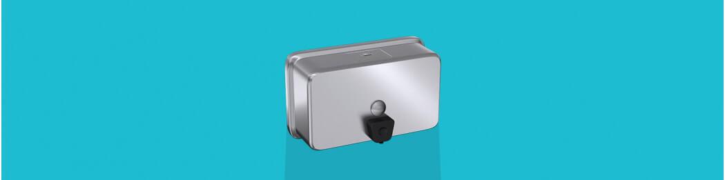 Distributeurs de savon à poser en applique