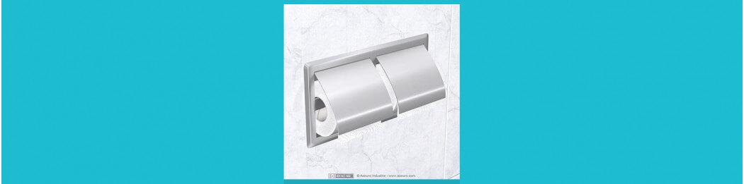 Dispensadores de papel higiénico para rollos pequeños