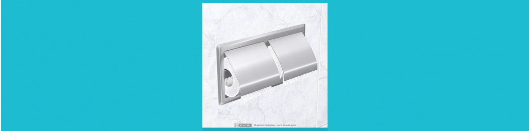 Toilet paper dispensers for small rolls